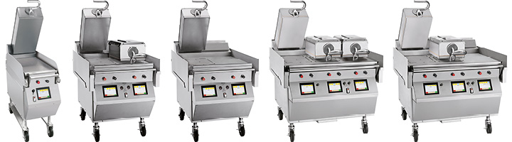 Taylor Clamshell Grills